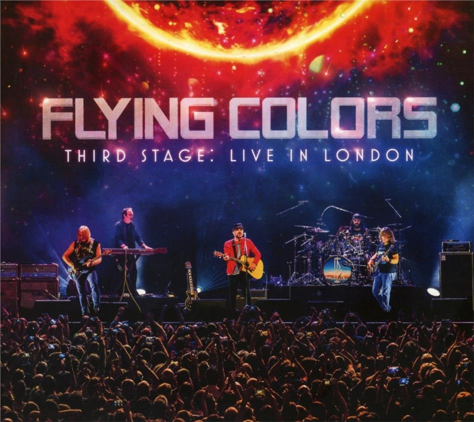 Flying Colors (Portnoy/Morse/Morse) - Third Stage: Live In London 2019 (2 CDs + 2 DVDs)