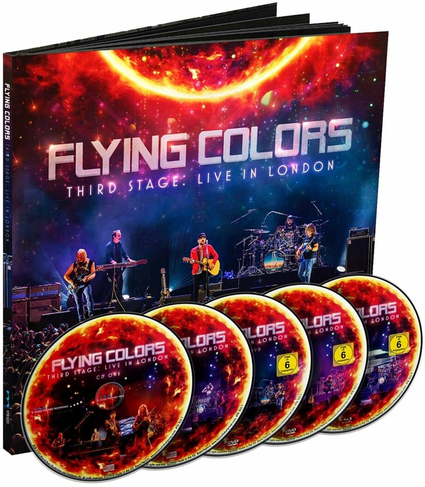 Flying Colors (Portnoy/Morse/Morse) - Third Stage: Live In London 2019 (2 CDs + 2 DVDs + Blu-ray)