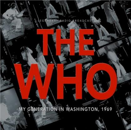 The Who - My Generation In Washington 1969
