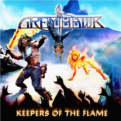 Greyhawk - Keepers Of The Flame (LP)