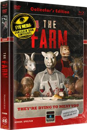 The Farm (2018) (Cover C, Limited Edition, Mediabook, Blu-ray + DVD)