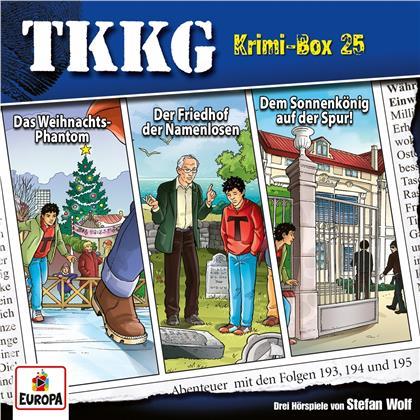 TKKG - Krimi-Box 25 (Folgen 193,194,195) (3 CDs)