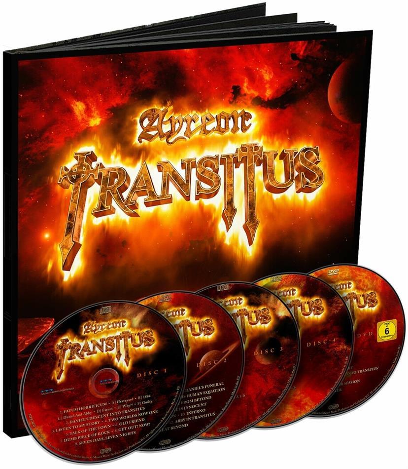 Ayreon - Transitus (Earbook, 4 CDs + DVD)
