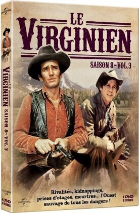 Le Virginien - Saison 8 - Vol. 3 (4 DVDs)