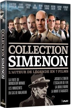 Collection Simenon - Le maitre du polar en 7 films (7 DVD)