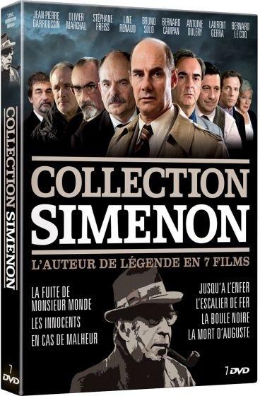 Collection Simenon - Le maitre du polar en 7 films (7 DVD)