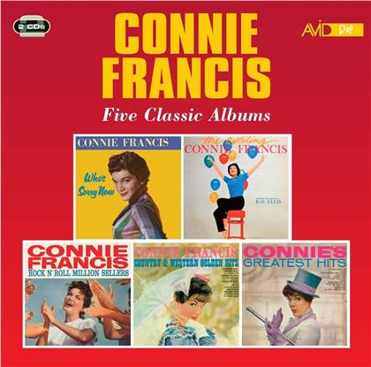 Connie Francis - Five Classic Albums (2 CDs)