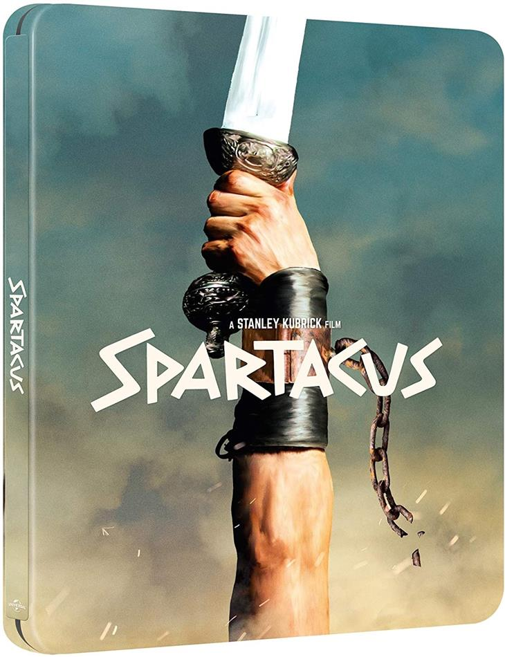 Spartacus (1960) (60th Anniversary Edition, Steelbook)