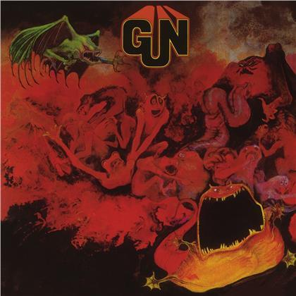 Gun - --- (Music On Vinyl, 1000 Copies, 2020 Reissue, Red & Silver Marbled Vinyl, LP)