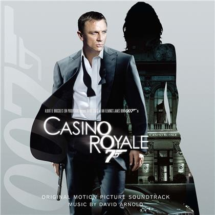 David Arnold - Casino Royale (James Bond) - OST (Music On Vinyl, 2020 Reissue, + Poster, 2000 Copies, Translucent Blue Vinyl, 2 LPs)