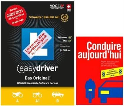 easydriver 2020/21 inkl. Theoriebuch Französisch