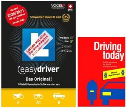 easydriver 2020/21 inkl. Theoriebuch Englisch