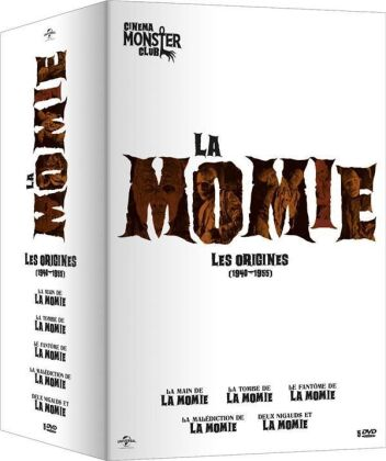 La Momie - Les Origines - 1940-1955 (5 DVDs)