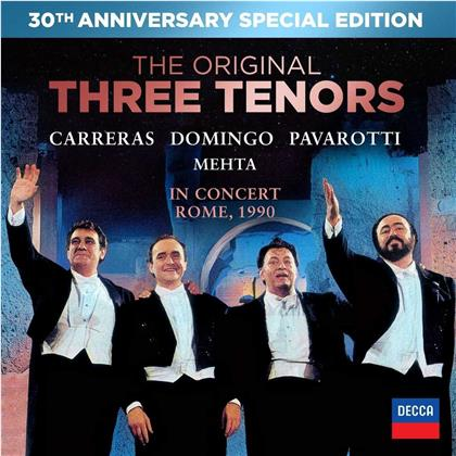 The Three Tenors - In Concert Rome 1990 (30th Anniversary Special Edition, DVD + CD)