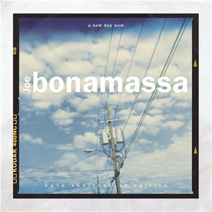 Joe Bonamassa - A New Day Now (Provogue, Gatefold, 2020 Reissue, 20th Anniversary Edition, Transparent Blue Vinyl, 2 LPs)