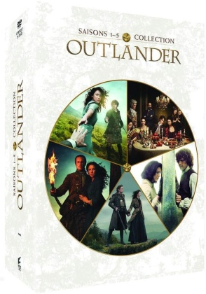 Outlander - Saisons 1-5 (25 DVDs)