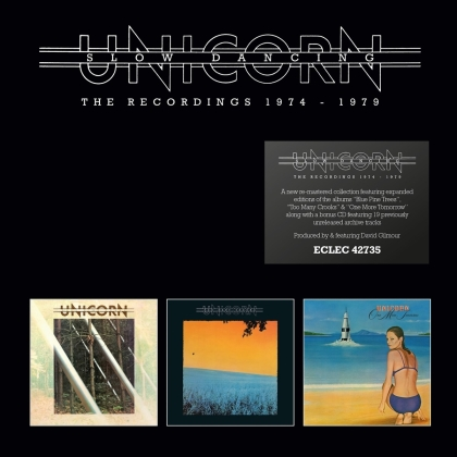 Unicorn - Slow Dancing ~ The Recordings 1974-1979 (2020 Reissue, Remastered, 4 CDs)