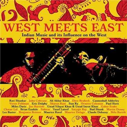 West Meets East ~ Indian Music And Its Influence On The West: 3CD Capacity Wallet (3 CDs)