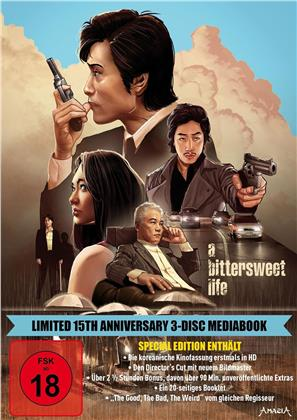 A Bittersweet Life (2005) (15th Anniversary Edition, Director's Cut, Kinoversion, Limited Edition, Mediabook, Special Edition, 3 Blu-rays)