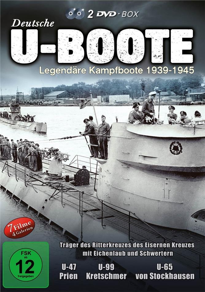 Deutsche U-Boote - Legendäre Kampfboote 1939-1945 (2 DVDs)
