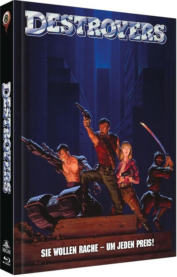 Destroyers (1986) (Cover B, Limited Collector's Edition, Mediabook, Blu-ray + DVD)