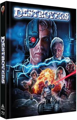 Destroyers (1986) (Cover C, Collector's Edition Limitata, Mediabook, Blu-ray + DVD)