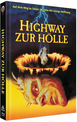 Highway zur Hölle (1991) (Cover A, Collector's Edition Limitata, Mediabook, Blu-ray + DVD)
