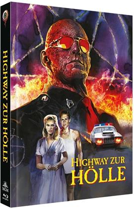 Highway zur Hölle (1991) (Cover C, Collector's Edition Limitata, Mediabook, Blu-ray + DVD)