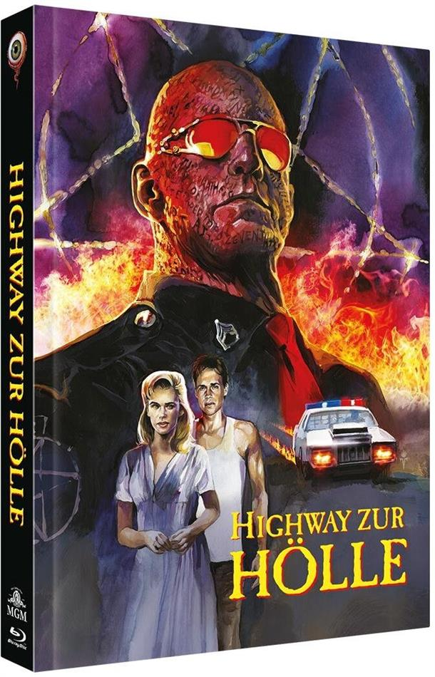 Highway zur Hölle (1991) (Cover C, Limited Collector's Edition, Mediabook, Blu-ray + DVD)