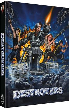Destroyers (1986) (Cover A, Collector's Edition Limitata, Mediabook, Blu-ray + DVD)