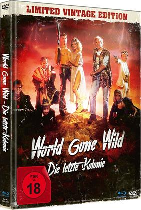 World Gone Wild - Die letzte Kolonie (1987) (Limited Vintage Edition, Mediabook, Uncut, Blu-ray + DVD)