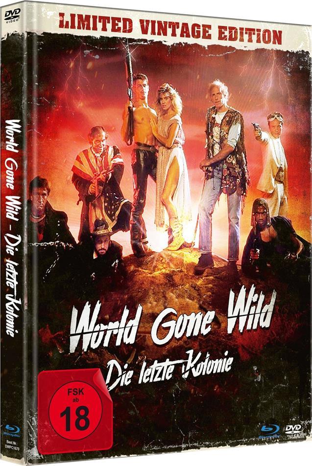 World Gone Wild - Die letzte Kolonie (1987) (Limited Vintage Edition, Mediabook, Uncut, Blu-ray + DVD)