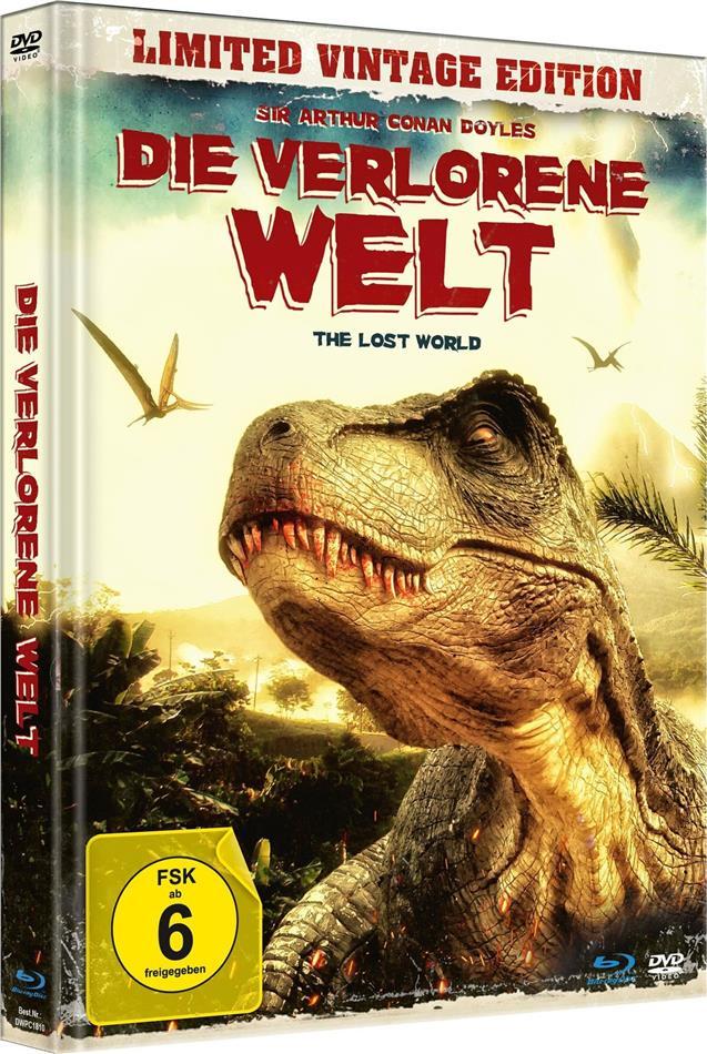 Die verlorene Welt - The Lost World (1925) (Limited Vintage Edition, Mediabook, Uncut, Blu-ray + DVD)