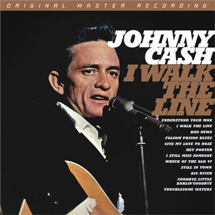 Johnny Cash - I Walk The Line (Mobile Fidelity, Mono, Numbered, Limited Edition, SACD)