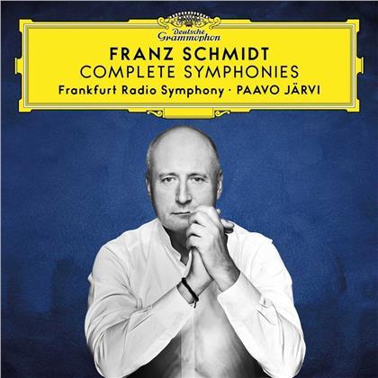 Paavo Järvi, Frankfurt Radio Symphony Orchestra & Franz Schmidt (1874-1939) - Complete Symphonies (3 CDs)