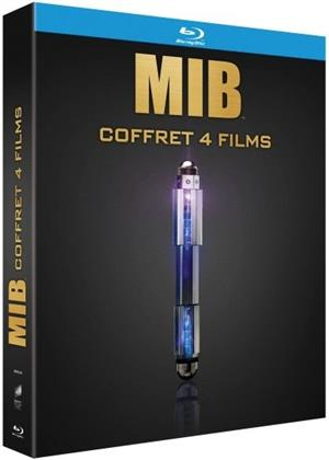 Men in Black Tetralogie - Men in Black 1-3 & Men in Black: International (4 Blu-rays)