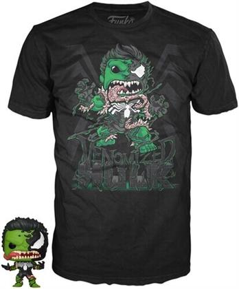 Funko Pocket Pop! & Tee: - Marvel Venom - Hulk (12PC)