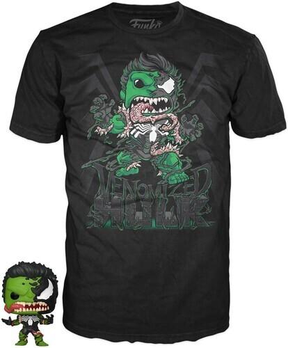 Funko Pocket Pop! & Tee: - Marvel Venom - Hulk (12PC)