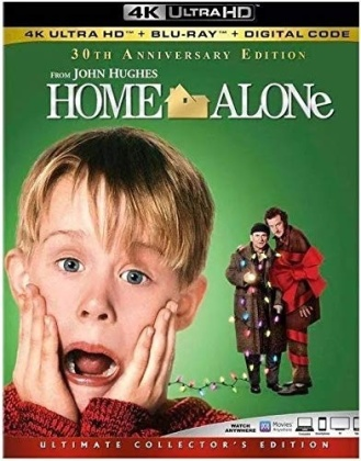Home Alone (1990) (Ultimate Collector's Edition, 4K Ultra HD + Blu-ray)