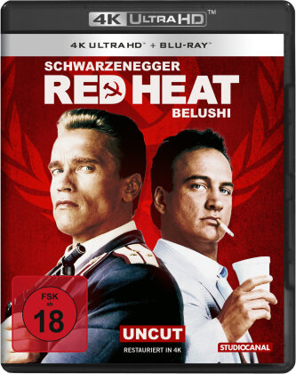 Red Heat (1988) (Uncut, 4K Ultra HD + Blu-ray)
