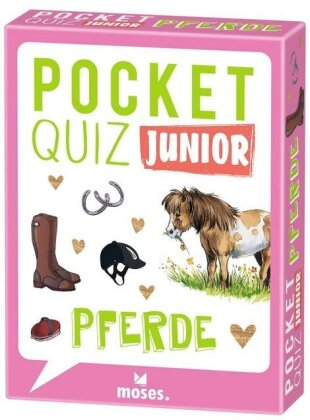 Pocket Quiz junior Pferde