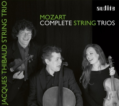 Jacques Thibaud String Trio & Wolfgang Amadeus Mozart (1756-1791) - Complete String Trios