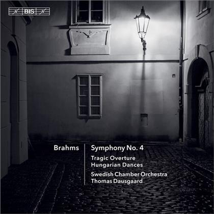 Johannes Brahms (1833-1897), Thomas Dausgaard & Swedish Chamber Orchestra - Symphony 4, Tragic Overture, Hungarian Dances (Hybrid SACD)