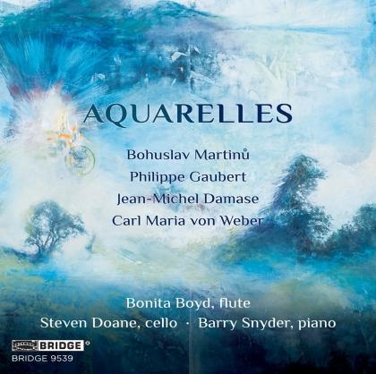 Bohuslav Martinu (1890-1959), Philippe Gaubert (1879 - 1941), Jean-Michel Damase, Carl Maria von Weber (1786-1826), Bonita Boyd, … - Aquarelles