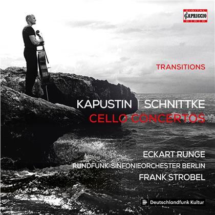 Nikolai Kapustin (*1937), Alfred Schnittke (1934-1998), Frank Strobel, Eckart Runge & Rundfunk-Sinfonie Orchester Berlin - Cello Concertos