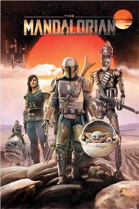 Star Wars: The Mandalorian (Group) Maxi Poster