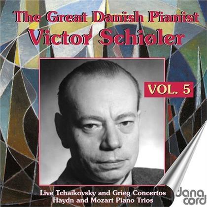 Peter Iljitsch Tschaikowsky (1840-1893), Edvard Grieg (1843-1907), Joseph Haydn (1732-1809), Wolfgang Amadeus Mozart (1756-1791) & Victor Schioler - Great Danish Pianist 5