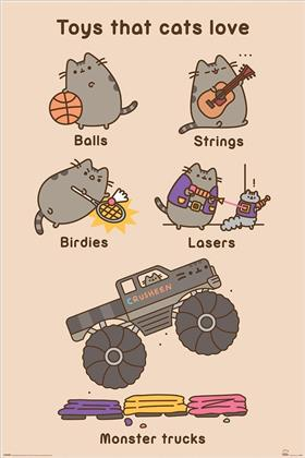 Pusheen (Toys for Cats) Maxi Poster
