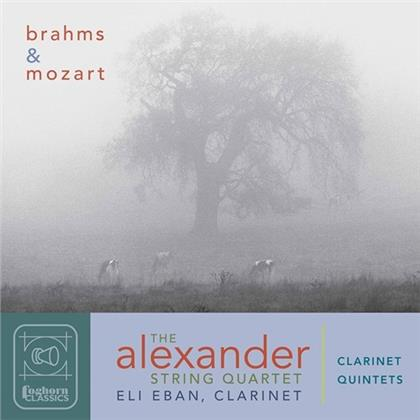 Alexander String Quartet, Johannes Brahms (1833-1897), Wolfgang Amadeus Mozart (1756-1791) & Eli Eban - Clarinet Quintets