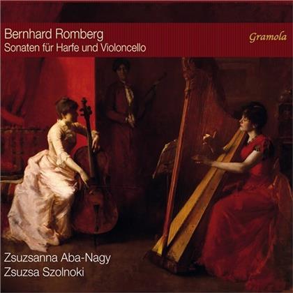 Zsuzsanna Aba-Nagy, Zsuzsa Szolnoki & Bernhard Romberg (1767-1841) - Sonaten Harfe Und Violoncello